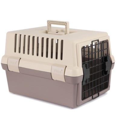 강아지 고양이 안전 고급 간편 이동장 뉴브라운