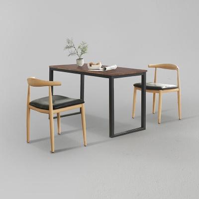 디보엘 식탁 세트B 1200 + 의자 2개포함 (착불)
