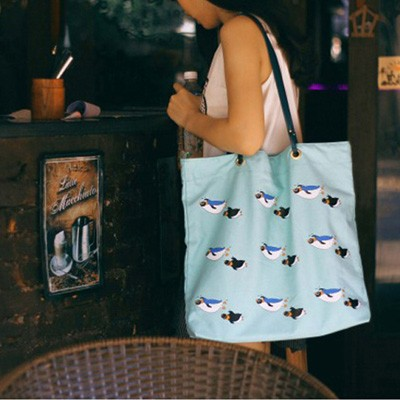 Swimming Eco Bag 스위밍에코백 캔버스가방