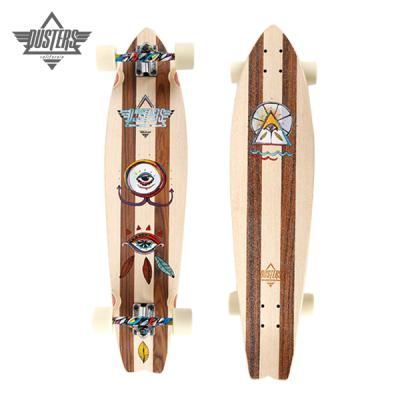 [DUSTERS] 37 MIA ROSEWOOD SWALLOW TAIL LONGBOARD COMPLETE