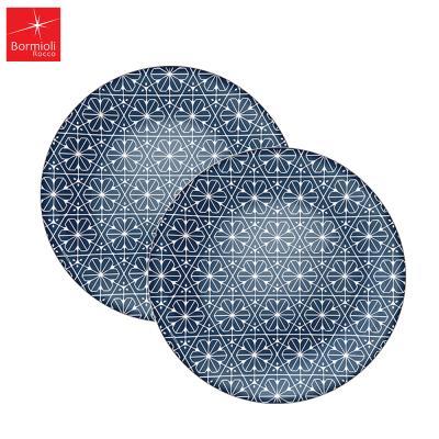 마이오리카 블루 접시 대 1+1
