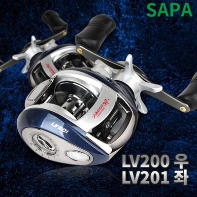 싸파 LV200(우) LV201(좌 13볼베이트릴선택형바다민물
