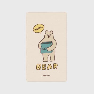 [어프어프] 보조배터리 Bear box-Ivory