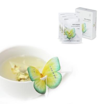 [꽃을담다] 아카시아 꽃차 나비티백(3개입)