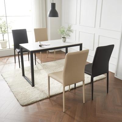 안톤 세라믹 마블 식탁 세트A 1200 + 의자 4개포함