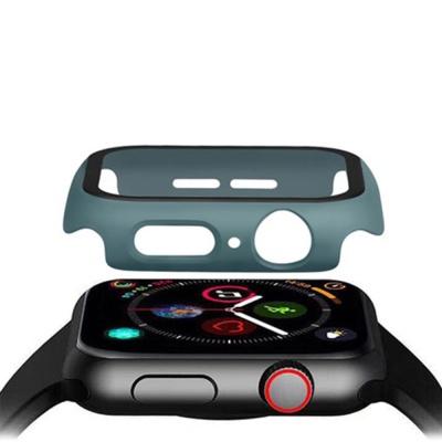 애플워치케이스 강화유리 풀커버 투명 1 2 3세대 범퍼