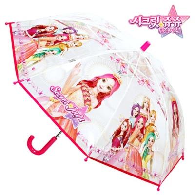 시크릿쥬쥬 리본 50 투명 우산