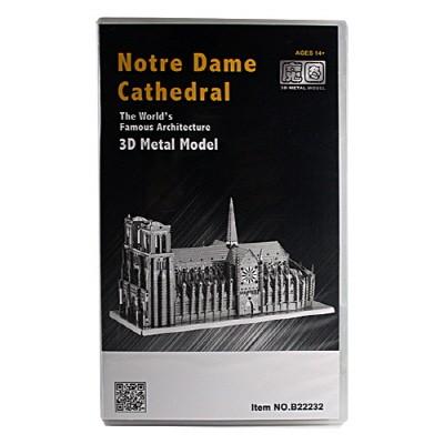 3D메탈웍스 노트르담 대성당(3DM540135) 금속조립키트