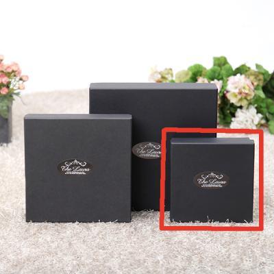 선물 포장 상자-블랙싸바리상자  정사각 소형 Box D1