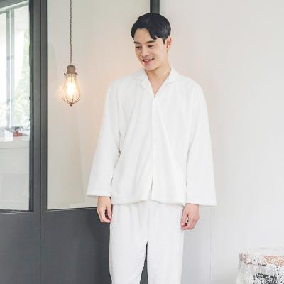 [쿠비카]샤이닝 포근한 극세사 남성잠옷 BNBR-M073