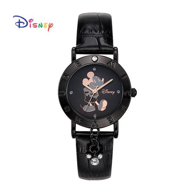 Disney 월트디즈니 미키 가죽시계 OW-035DBB