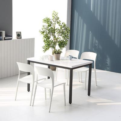 M6267 1000 스틸 카페 테이블