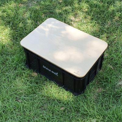 스노우아울 멀티 캐리박스+우드상판