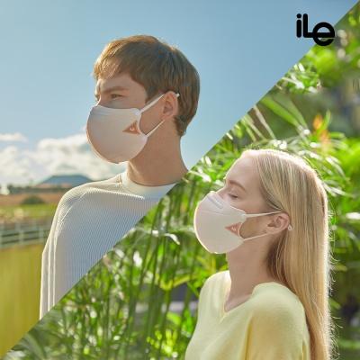 ILE 지구를 생각하는 다회용 발수코팅 쿼드 마스크