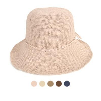 [디꾸보]소프트 끈 리본 플로피 햇 썬캡 모자 JAN381