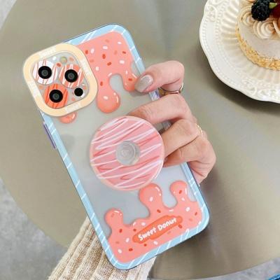 아이폰 12 11 pro max se2 도너츠 그립톡 세트 케이스