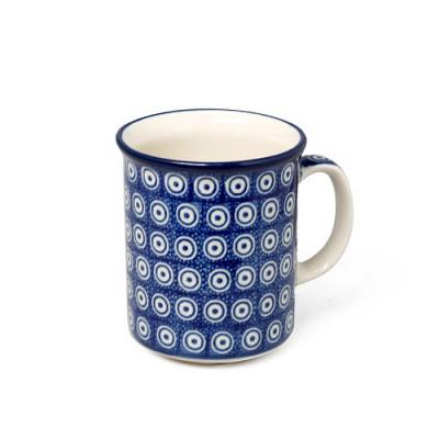 [폴란드그릇 AT]236/1294X01 블루아이 일자머그300