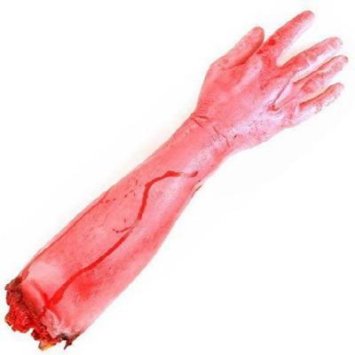 피 흘리는 잘린 팔