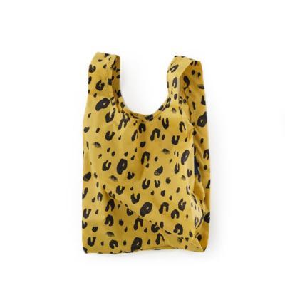 [바쿠백] 소형 베이비 에코백 장바구니 Leopard