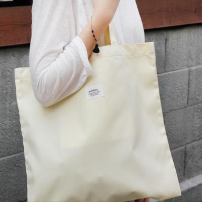 [버빌리안] BASIC ECO BAG (YELLOW)