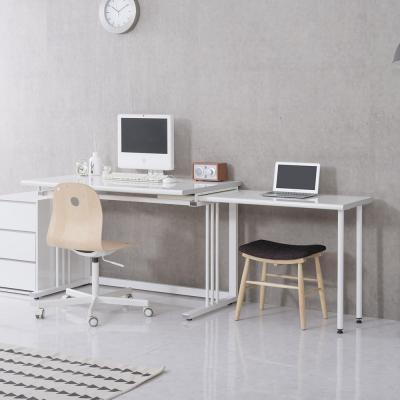 스칼렛 2인용 다용도 학생 컴퓨터책상1200 확장테이블
