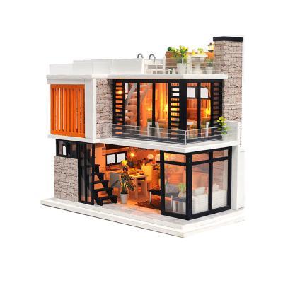 DIY 미니어처 하우스 - 루프탑 풀빌라