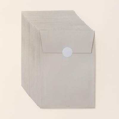 기프트 봉투 베이지브라운 M - 20매