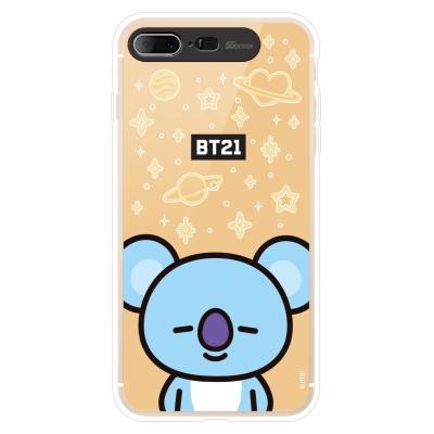 BT21 iPhone8 Plus /7 Plus 코야 미러 라이팅 케이스 (Hybrid)
