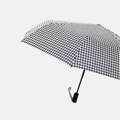 파라체이스 하운드투스 패턴 자동 3단 우산 3206
