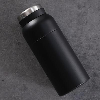 라운드 미니 진공 텀블러 350ml(블랙)