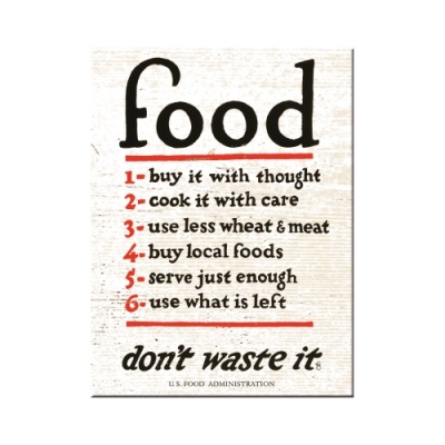 노스텔직아트[14353] Food Don't Waste It