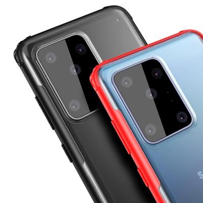 아이폰11 pro max/슬림 컬러 라인 투명 하드 케이스