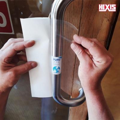 HEXIS 항균필름 코로나19 예방/항균 손잡이용