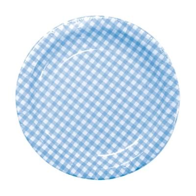 이라이프 칼라 종이접시 200 블루 10P