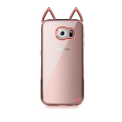 고양이 메탈 젤리 케이스(갤럭시S6)