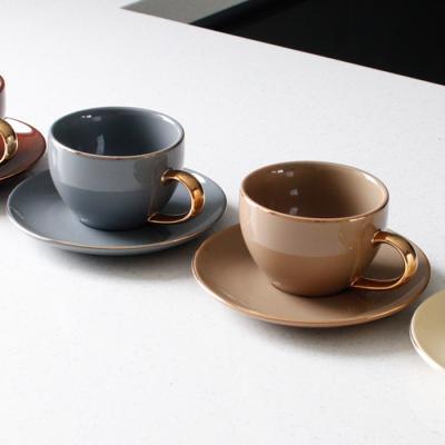 에크렌(Ecrins) 24K골드 노블 커피잔 세트 - 4color