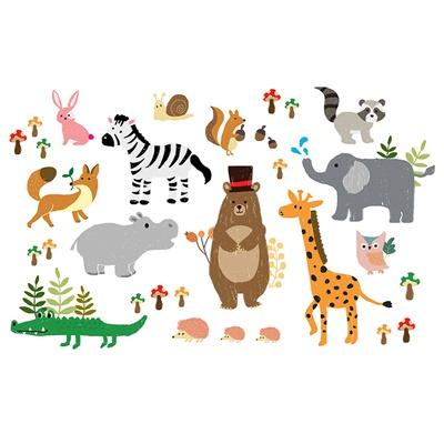 [바니바니] 햇빛가리개 - 동물파티
