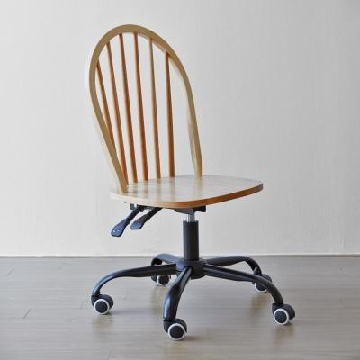 [리비니아]솔리드 원목 학생 의자