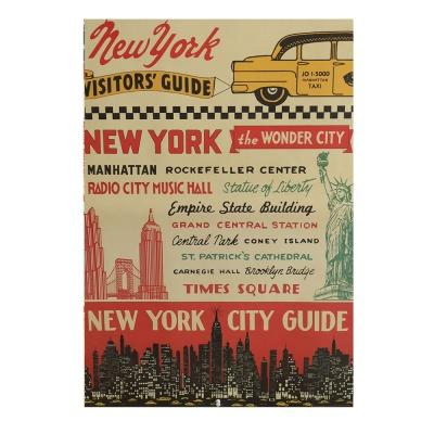 카발리니 일러스트 빈티지포스터 Newyork city