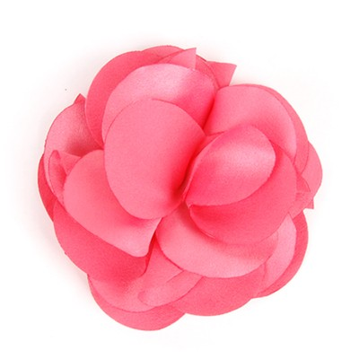 [헤어보우] Lovely Flower 헤어핀-Coral