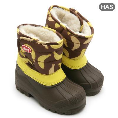 [HAS] 아동 방한부츠_몽키 바나나