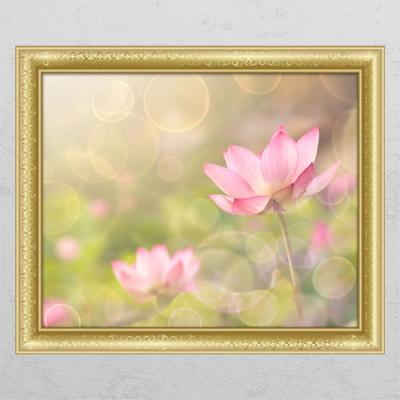 cl426-풍수부귀로운연꽃4_창문그림액자