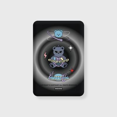 Space night bear-black(무선충전보조배터리)