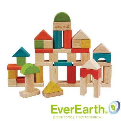 [Everearth] 원통쌓기 블록-50pcs