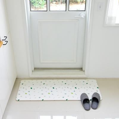 디자인 양면 쿠션매트 PVC주방매트 발매트 12T