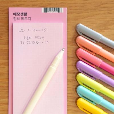 리훈 이야기 초저점도펜 검정심 0.38mm