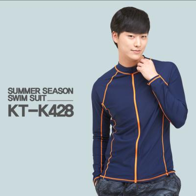 쿠기 남성 래쉬가드 상의 단품 KT-K428