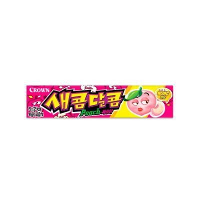 크라운 새콤달콤 복숭아 (소) 29g