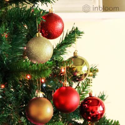 인블룸 크리스마스 장식볼 24개 세트