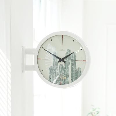 Morden Double Clock Cactus(WH)
